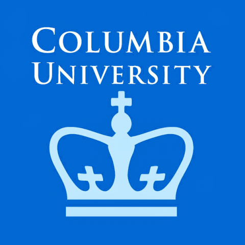 Columbia University Logo. Name in roman lettering and crown.